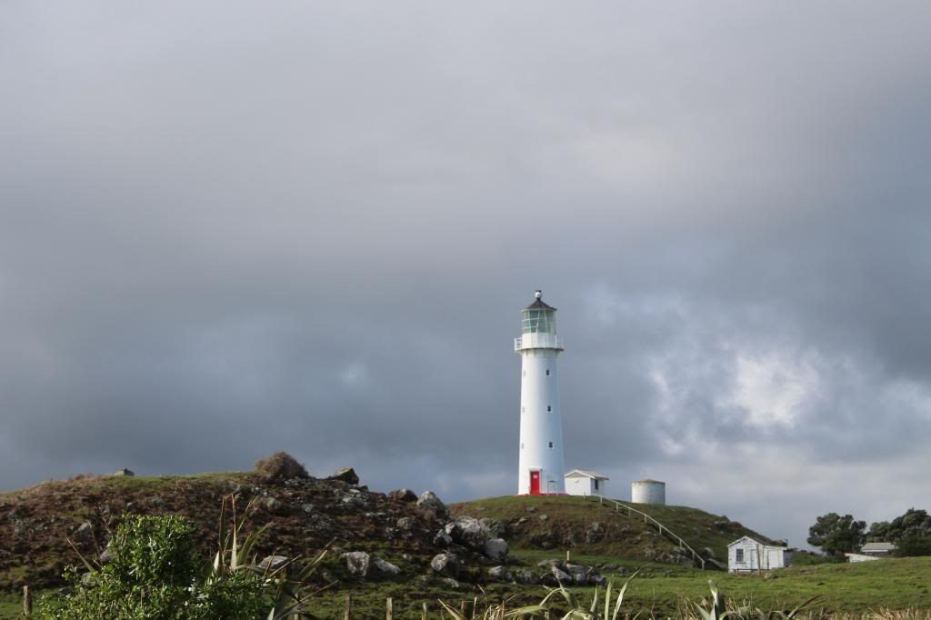 Cape Egmont Lighthouse.