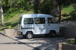 Little Van to ferry the guests around