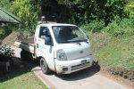 The Little Ute to get around the Island