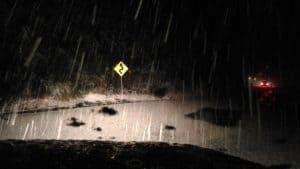 Snow on the Rimutaka Hill 1