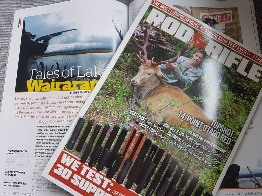Cover and my article in Rod and Rifle Magazine
